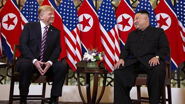 Trump y Kim Jong-un se reúnen en una cumbre histórica en Vietnam