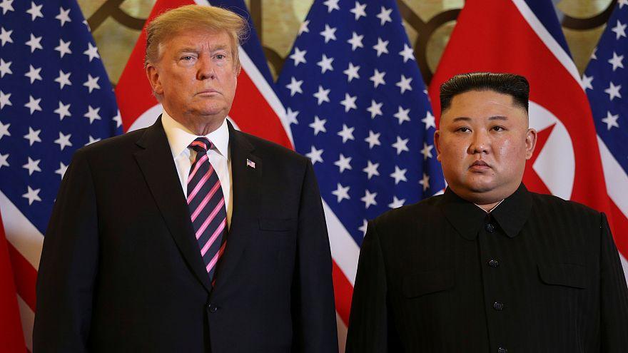 Donald Trump és Kim Dzsongun közös vacsorája