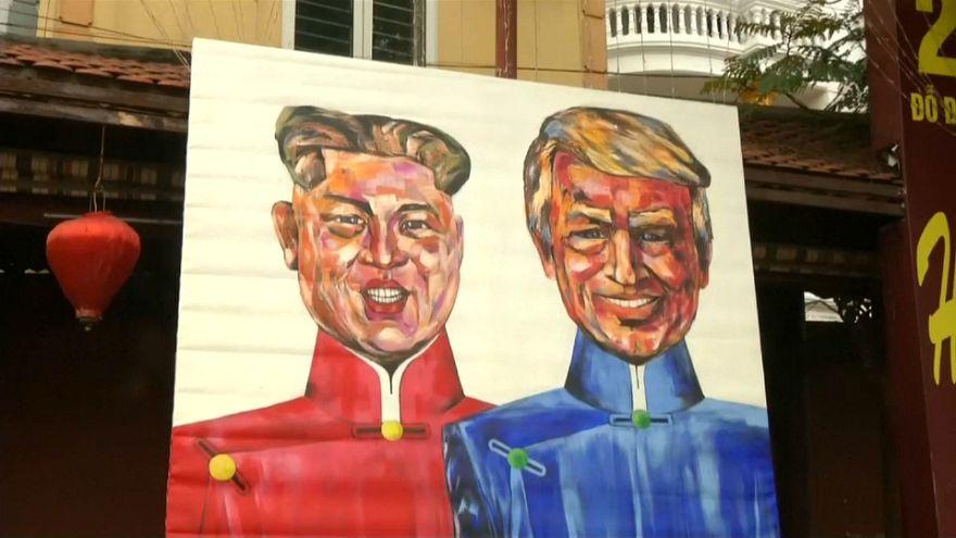 Histórico encuentro de Donald Trump y Kim Jong-un en Hanói