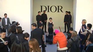 Desfiles de Dior y Saint Laurent en París