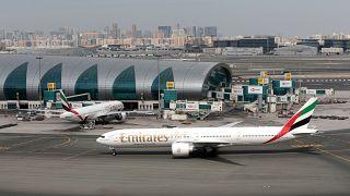 صورة أرشيفية من مطار دبي