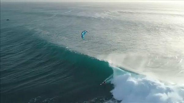 Kitesurf World Tour 2019 - Auftakt vor Ponta Preta