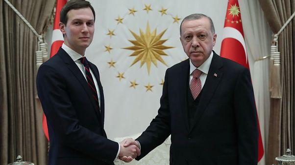 Cumhurbaşkanı Erdoğan, Trump'ın danışmanı Kushner ile Washington'un Ortadoğu barış planını görüştü