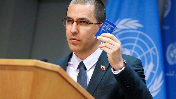 Ο Υπουργός Εξωτερικών της Βενεζουέλας Χόρσε Αρεάσα