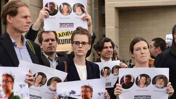 Sınır Tanımayan Gazeteciler'den Özgür Gündem davasında yargılanan 3 isim için imza kampanyası