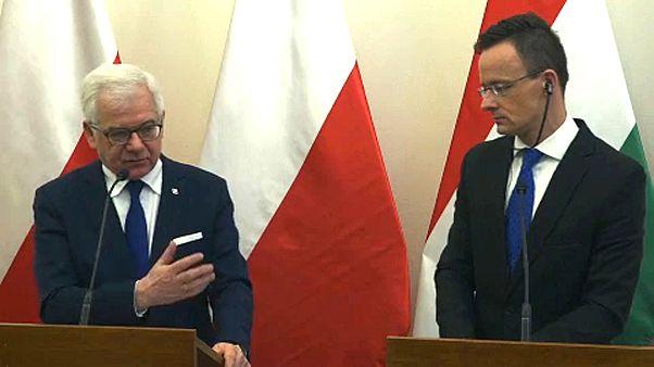 Budapesten tárgyalt a lengyel külügyminiszter