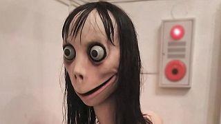 """صورة الوجه المستخدم لحساب لعبة """"تحدي مومو"""""""