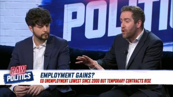Positive EU unemployment figures might not be telling the whole story   Raw Politics