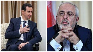 دعوت بشار اسد از جواد ظریف برای سفر به سوریه