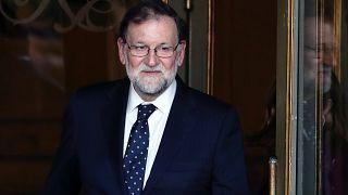 Rajoy macht Befürworter der Unabhängigkeit für Gewalt verantwortlich
