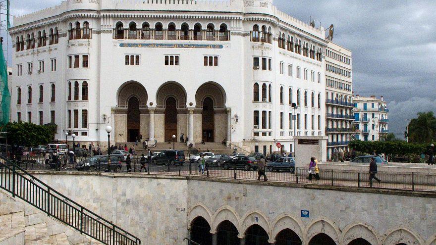 الجزائر العاصمة- ساحة البريد المركزي
