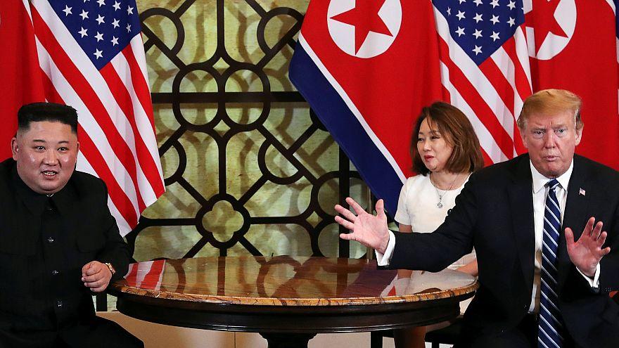 Nem született megállapodás a Trump-Kim csúcson a leszerelésről és a szankciók eltörléséről sem