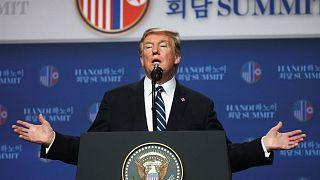 """Aucun accord"" au sommet Trump-Kim à Hanoï"