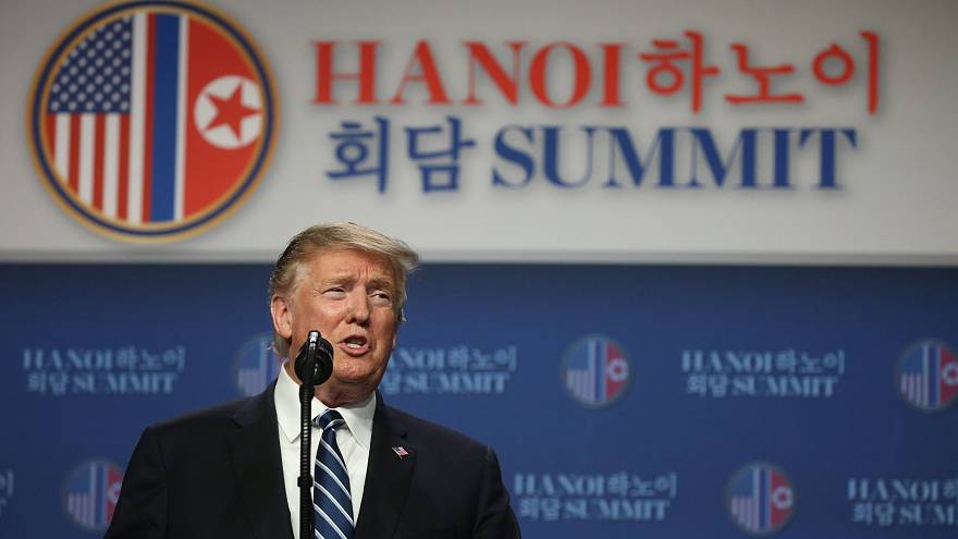 La conferenza stampa finale di Trump assieme al segretario di Stato, Pompeo