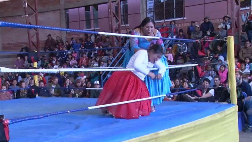 مصارعة حرة للسيدات في بوليفيا