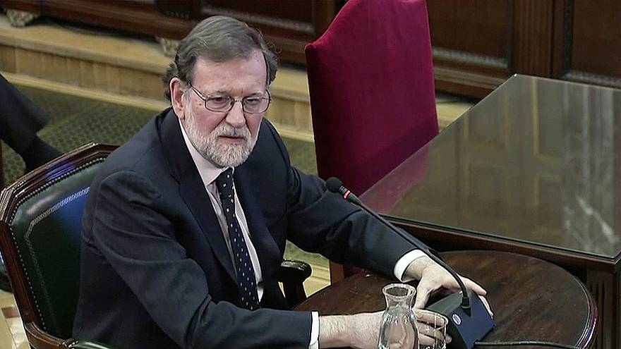 Mariano Rajoy témoigne au procès des séparatistes