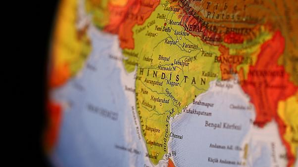 Hindistan Pakistan haritası