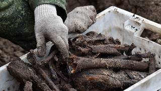 Mass World War Two graves found at Belarus building site