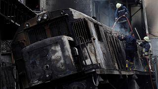 """من هو """"بطل الجركن"""" الذي أنقذ 10 من ضحايا حادث حريق محطة مصر؟"""