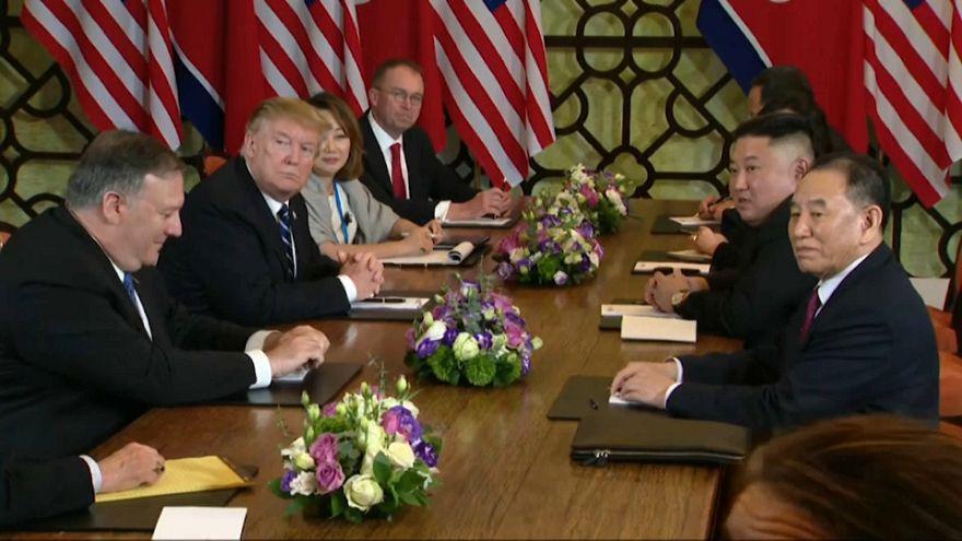 """Trump lobt Kim bei Fragerunde: """"Gute Antwort. Wow."""""""