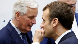 Politischer Flirt zwischen Macron und Barnier