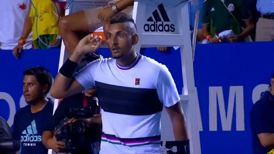 """Acapulco: """"Rüpel"""" Kyrgios bezwingt Favorit Nadal"""