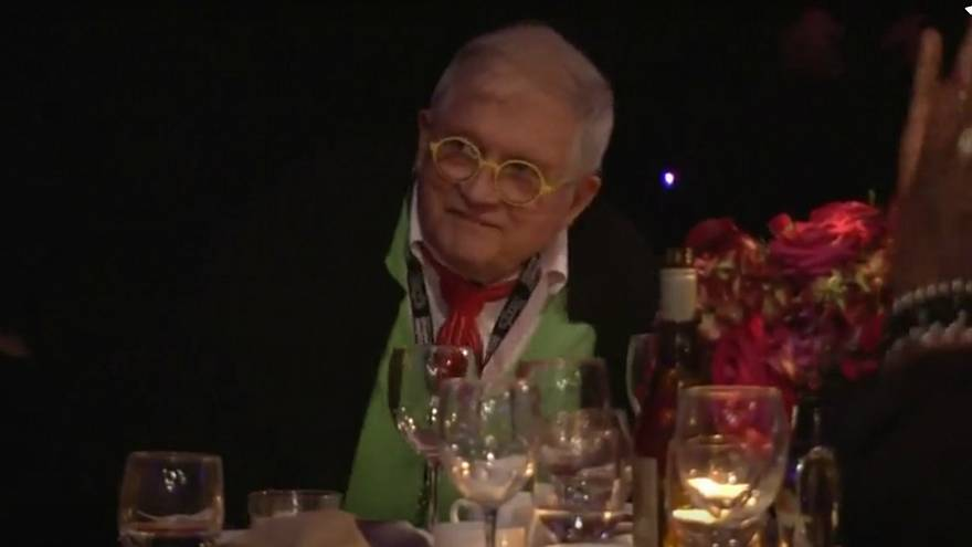 Firefighters called to rescue artist David Hockney from Amsterdam lift