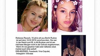 Facebook-Seite von Rebeccas Schwester