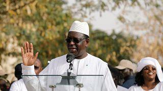 Macky Sall, président sénégalais réélu le 28/02/2019.