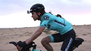 Turbo women: cyclists show their endurance in BikingMan Oman
