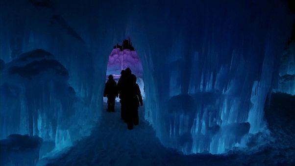 سرزمین عجایب زمستانی در آمریکا