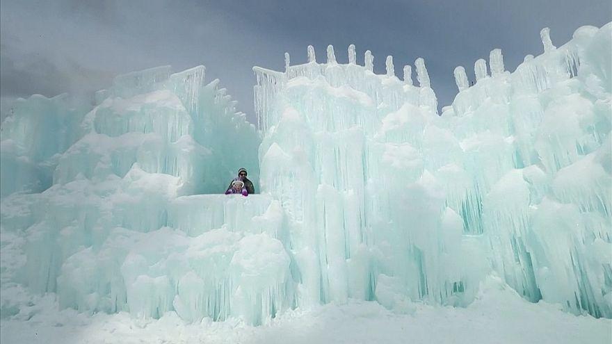 Eiswelt in New Hampshire begeistert Besucher