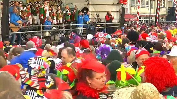 آغاز فصل کارناوال در آلمان