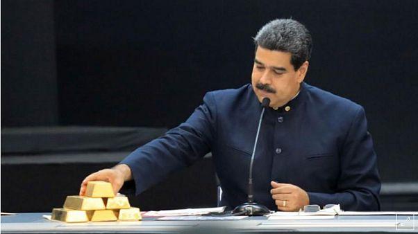خروج ۸ تن طلای دیگر از بانک مرکزی ونزوئلا