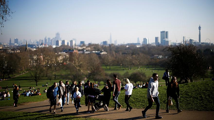 February marked by above average temperatures