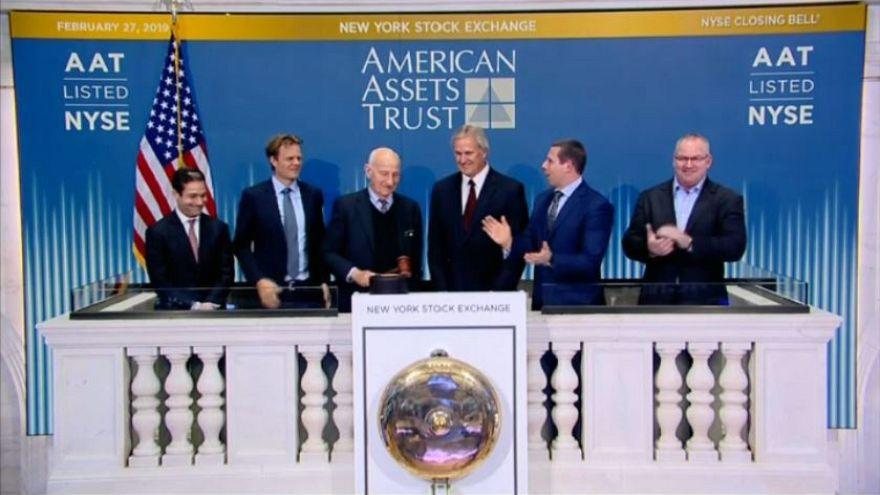 Wall Street, migliore apertura d'anno dal 1987