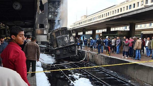 دعوا میان رانندگان علت اصلی تصادف مرگبار قطار در مصر اعلام شد