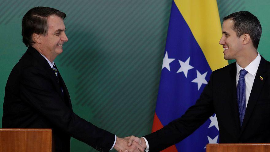 Bolsonaro'dan tam destek alan Guaido: Tehditlere rağmen ülkeme döneceğim