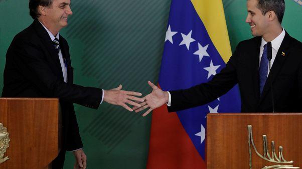 Guaidó trifft Brasiliens Bolsonaro, will aber zurück nach Venezuela