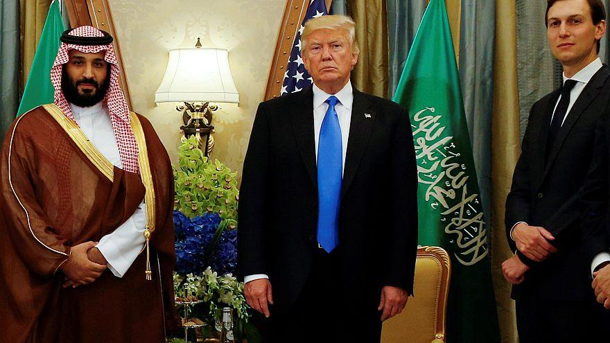 Suudi Prens Muhammed Bin Salman Abd Başkanı Donald Trump