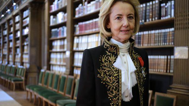 Dominique Bona, one member of the commission, Académie Française