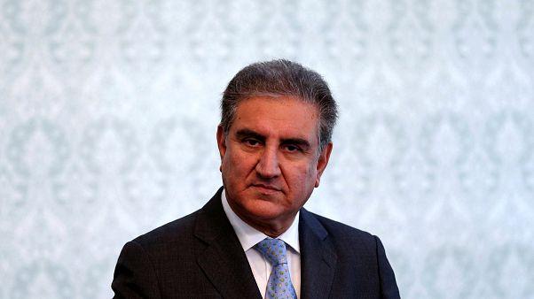 Pakistan Dışişleri Bakanı Şah Mahmud Kureyşi