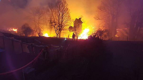 El calor de febrero dispara el número de incendios en Europa