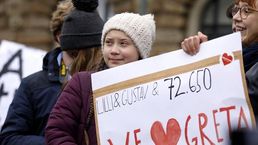 Fridays for Future: 4.000 demonstrieren mit Greta Thunberg in Hamburg