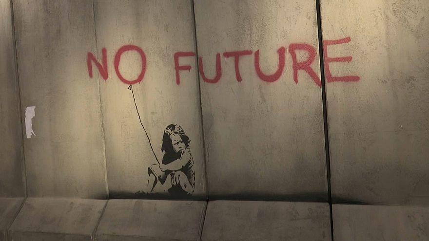 Banksy s'expose à Athènes pour Amnesty International