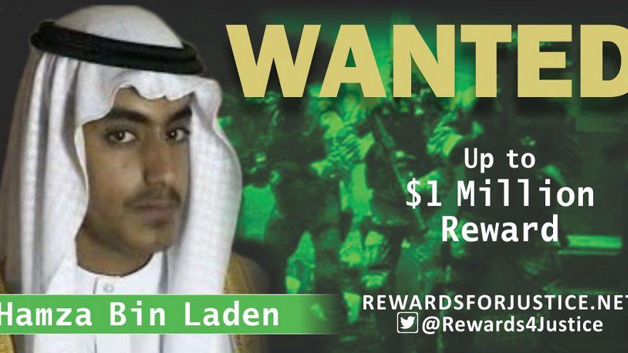 Stati Uniti: taglia milionaria su Hamza Bin Laden, figlio di Osama