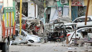 Somali'de 30'a yakın kişinin öldüğü saldırı sonrasında sıcak çatışma
