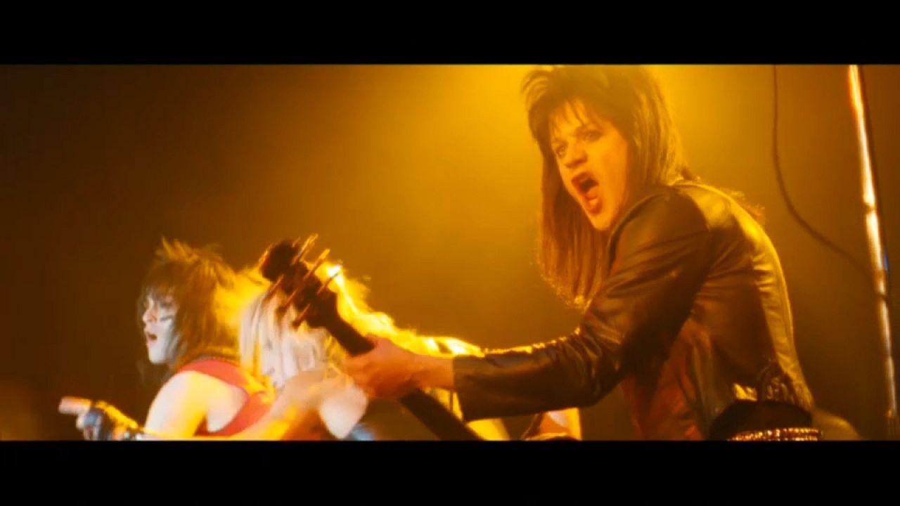 Mötley Crüe, stars du rock des années 1980, au centre d'un biopic
