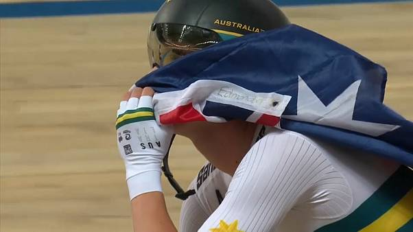 Ausztrál világcsúcs a pályakerékpáros vébén