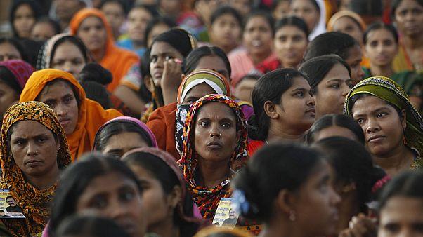Bangladeşli kadın çalışanlar